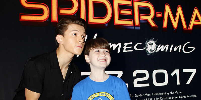 Spider-Man: Homecoming Sony Square NYC Fan Event