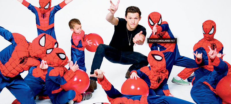 Tom with Spider-Babies!
