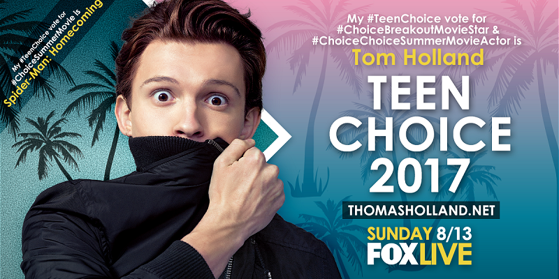 2017 Teen Choice Awards [Vote Now!]