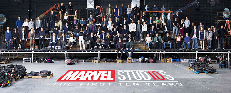 Marvel Studios 10-Year Anniversary Celebration Class Photo